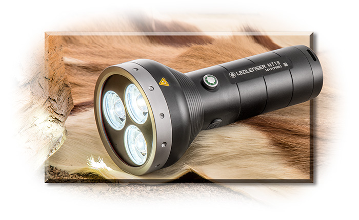 LED Lenser Rechargeable 3000 Lumen Flashlight