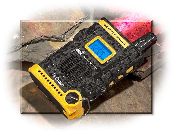 Hand Held Weather Radio