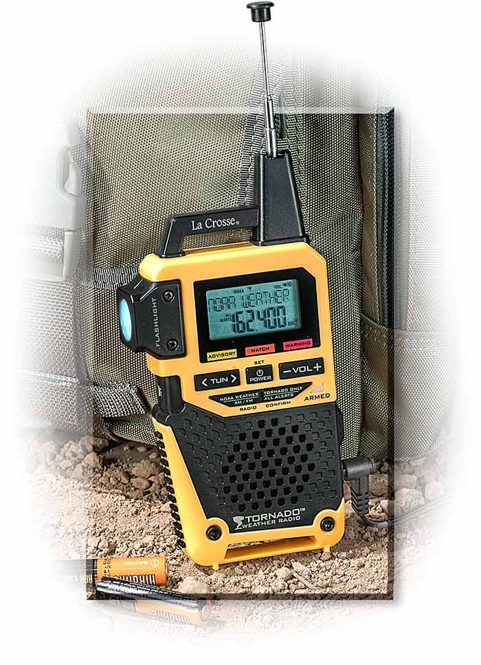 Handheld Weather Radio