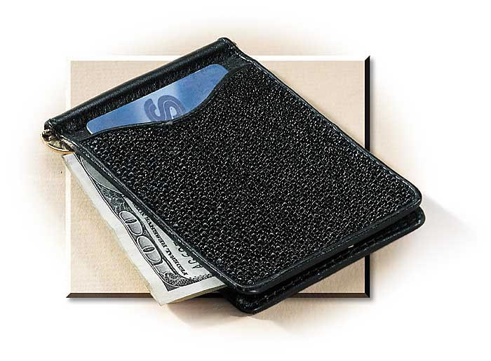 stingray money clip card holder russells for men - Money Clip And Card Holder