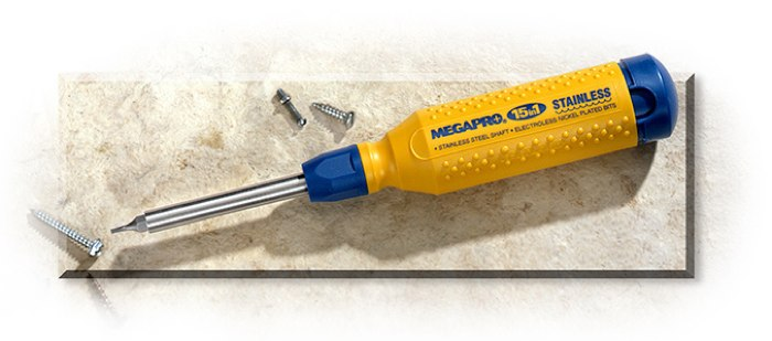 Stainless 15 in 1 Screwdriver