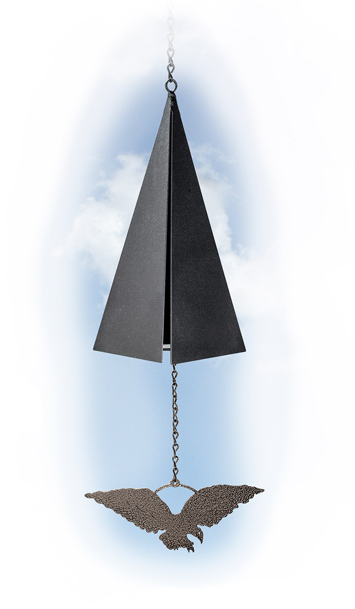 3-Tone Wind Bell with Eagle
