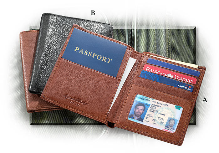 RFID Protecting Passport Wallet