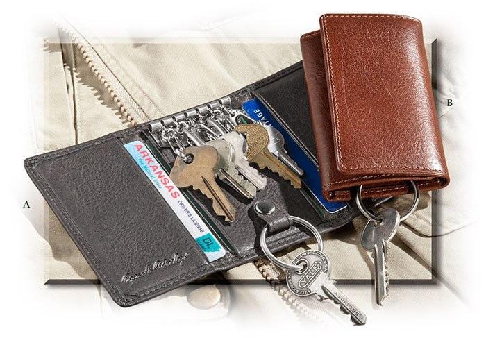5c1dcad033 Leather Six Hook Key Case