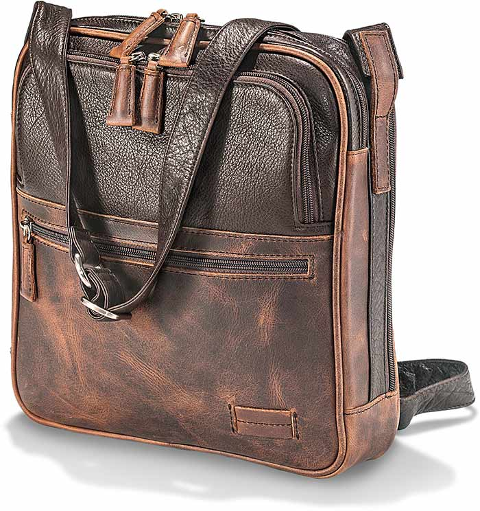 Cowhide Crossbody Traveler