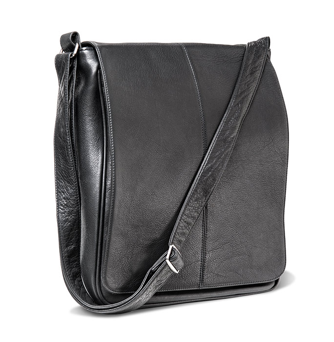 Leather Laptop Carryall