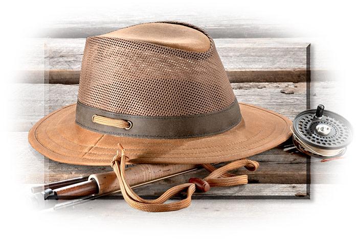 03a00ef28 Cotton Oilskin Field Hat