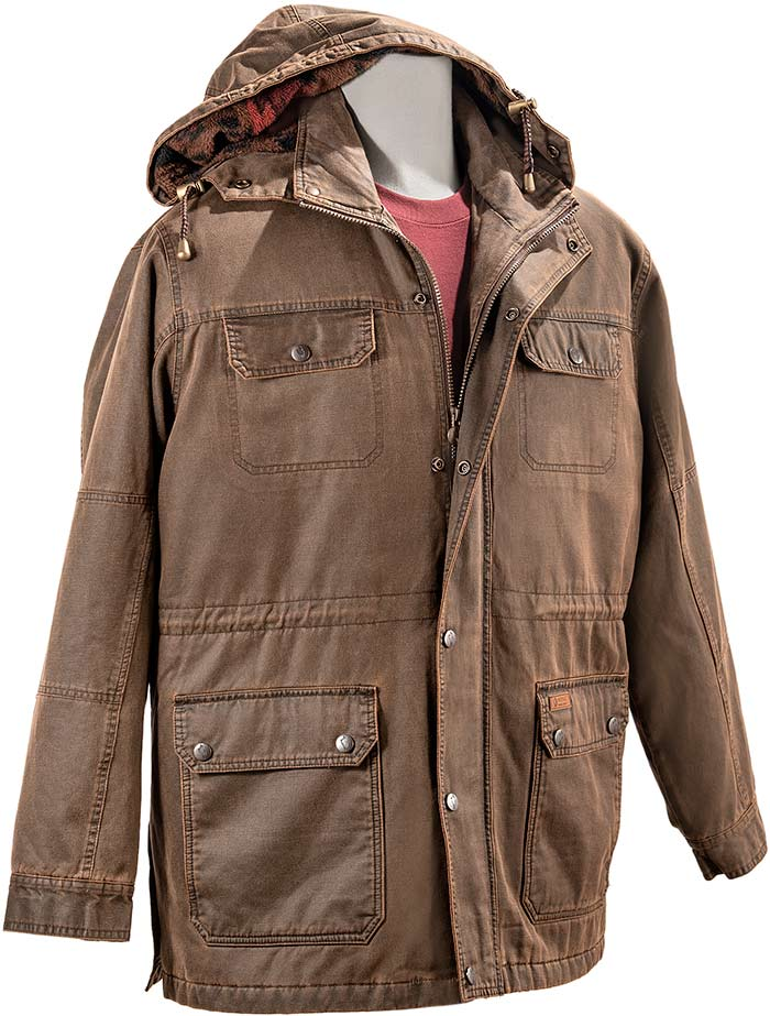 Concealed Carry Hooded Trail Jacket