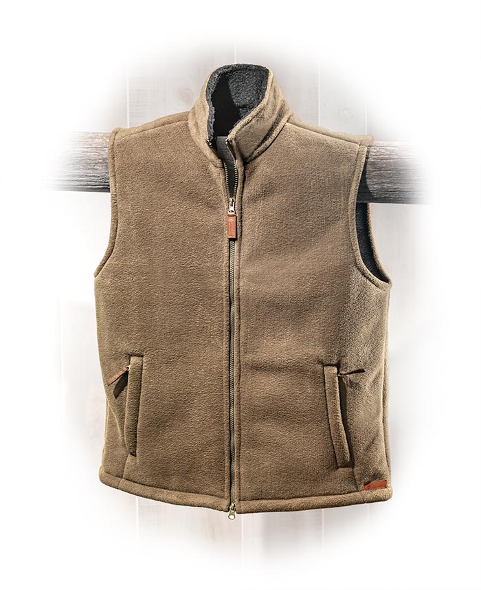 Concealed Carry Fleece Vest-Medium