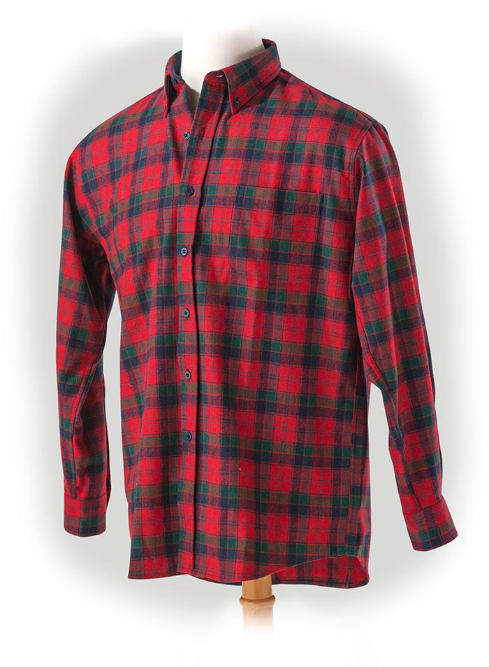 Pendleton Robertson Tartan Wool Shirt medium