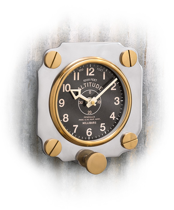 WWII Reproduction Altimeter Wall Clock