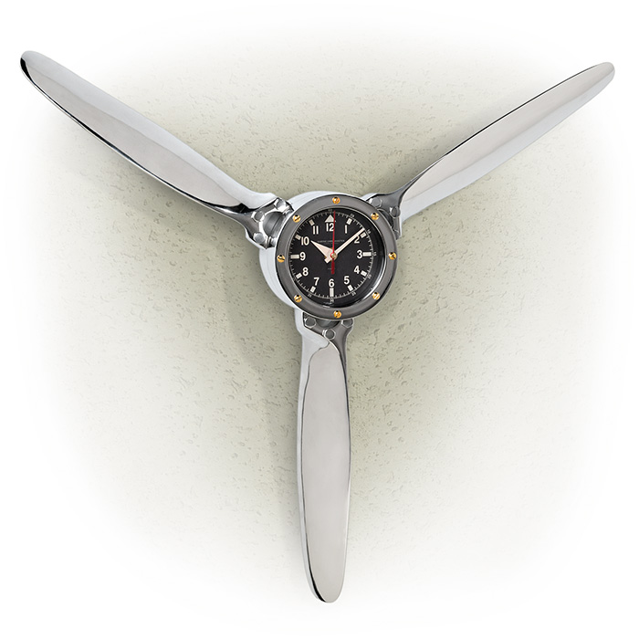 DC-3 Propeller Wall Clock