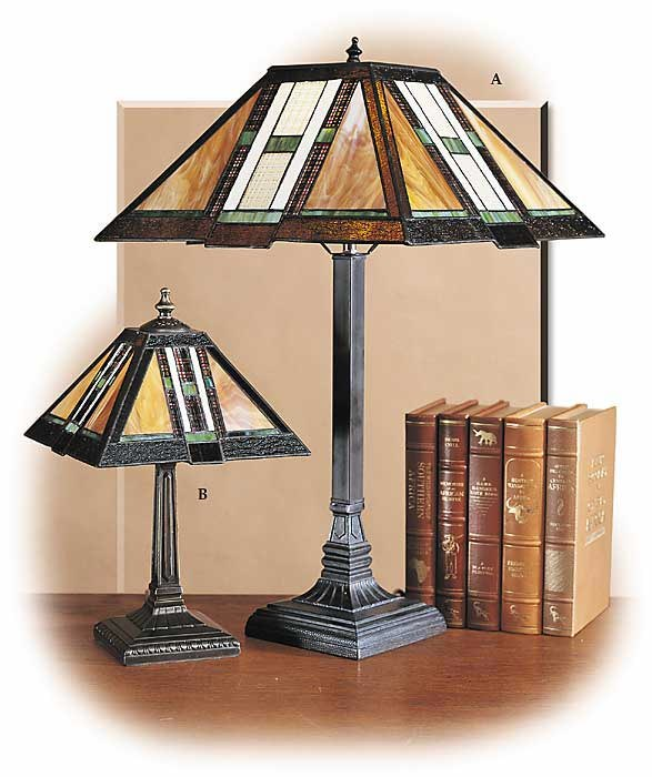 Arts & Crafts Tiffany Style Lamps