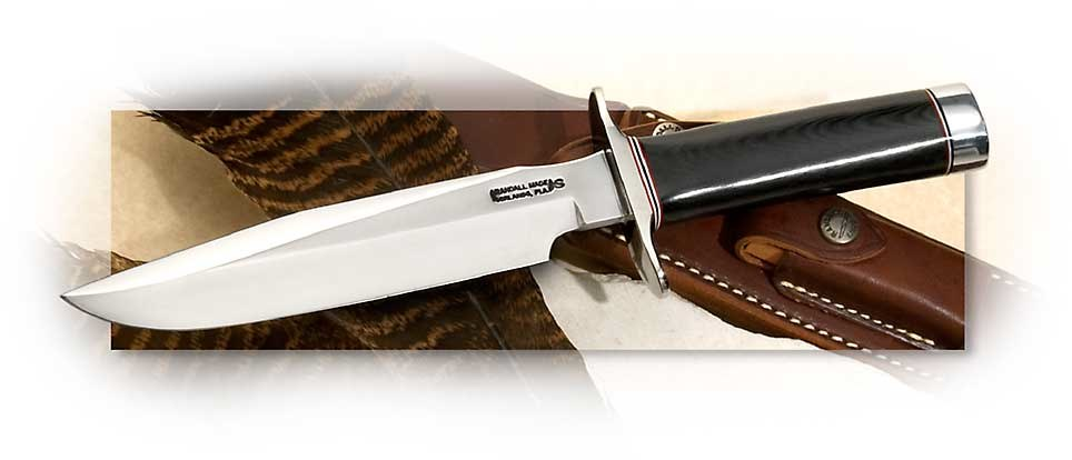 Randall® Model 1 Fighter  with Black Micarta Handle