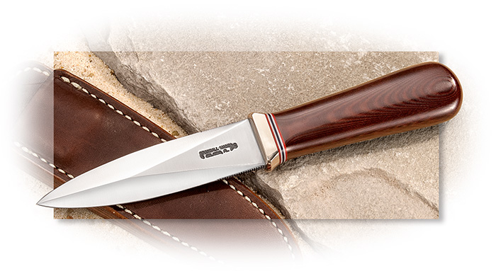 Randall Model 24 Guardian with Maroon Micarta