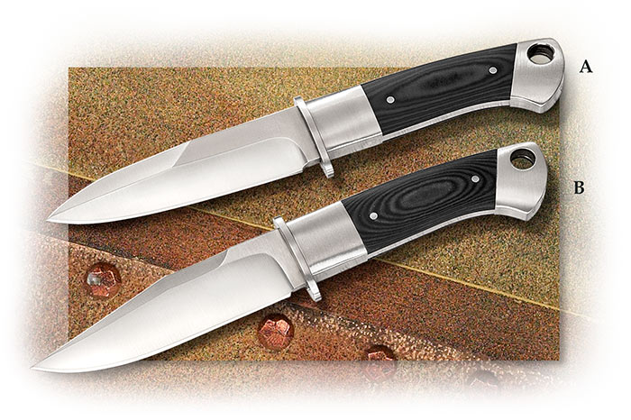 A. G. Russell Boot Style Knife drop-point