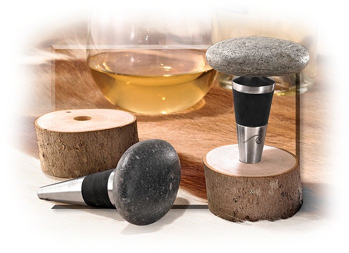 Sea Stone Bottle Stoppers