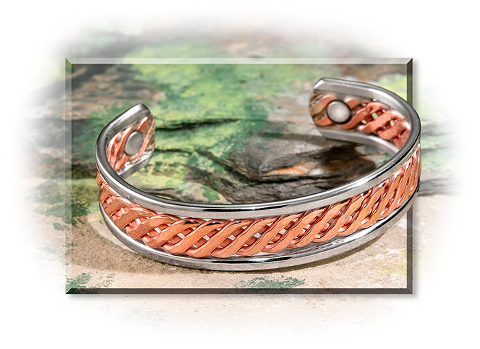Magnetic & Copper Celtic Bracelet