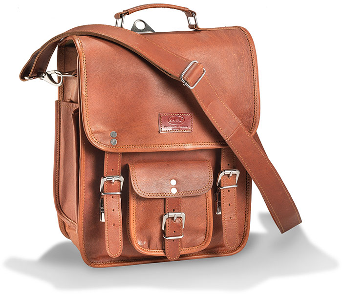 Leather 3-in-1 Backpack