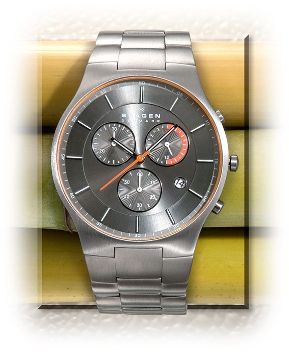 Chronograph Watch - Titanium Case and Band
