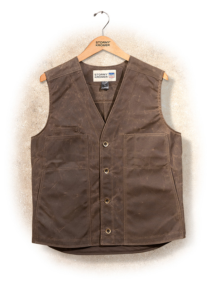 Stormy Kromer Waxed Cotton Vest