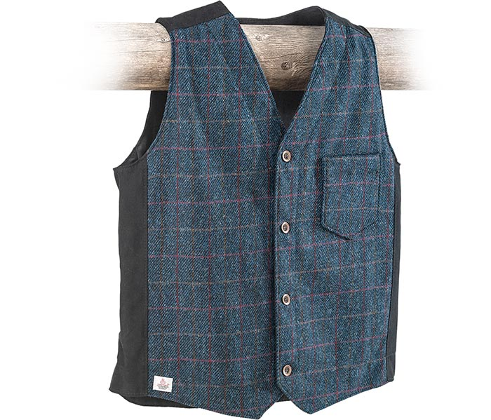 Stormy Kromer Harris Tweed Vest medium