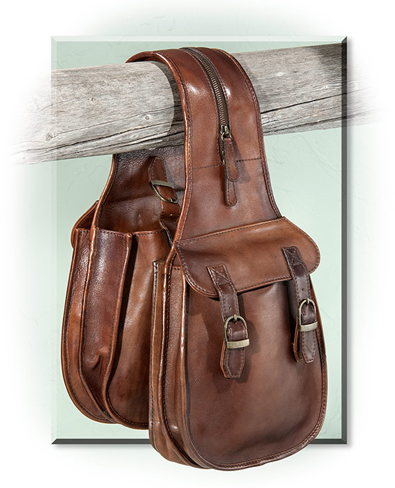 670ecf2b4905 Leather Saddlebags Rus S For Men. Scully Men S Accessory A Leather Saddle  Bag