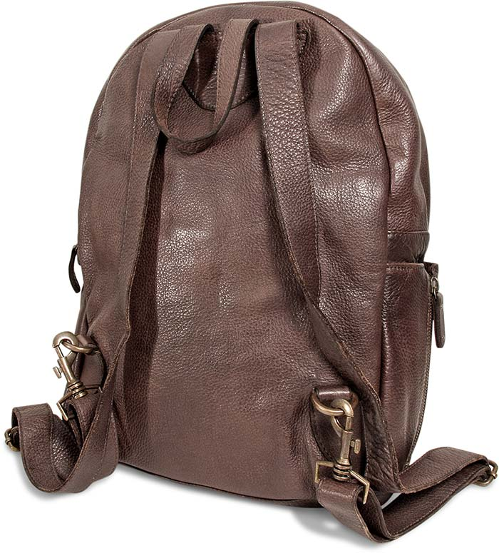 Supple Goat Leather Backpack