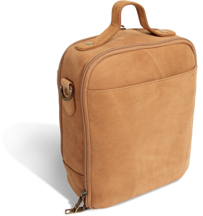 Scully Lamb Leather Traveler