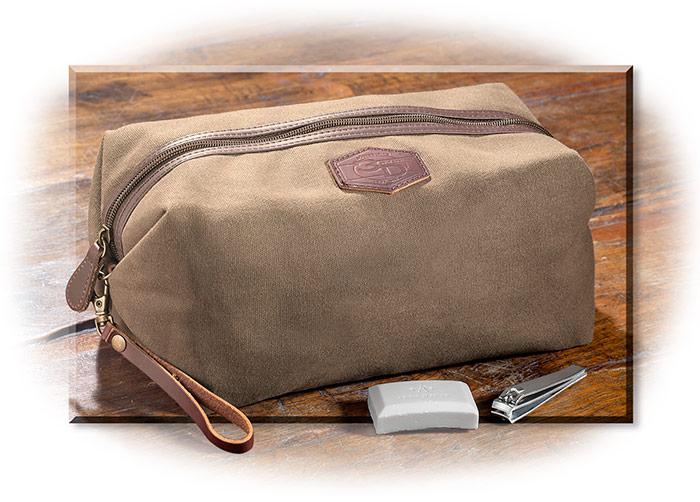 8ead0dae14 Tin Cloth Dopp Kit