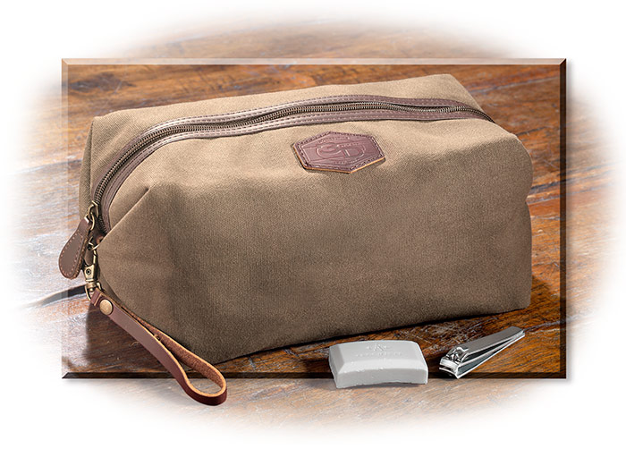 Tin Cloth Dopp Kit