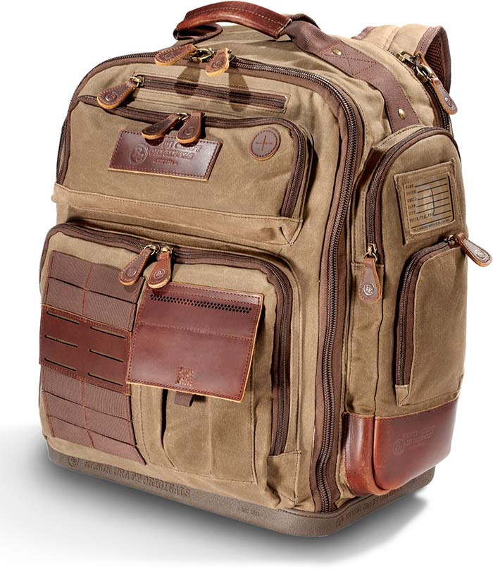 Heavy-Duty Tin Cloth Backpack
