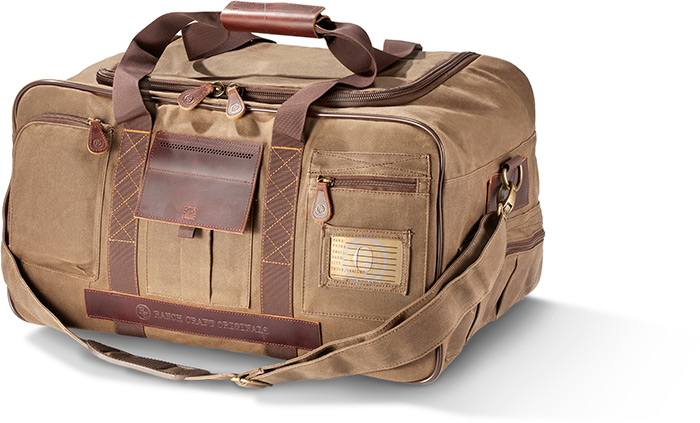 Heavy-Duty Tin Cloth Duffel