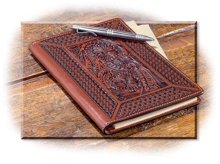 Tooled Leather Portfolio