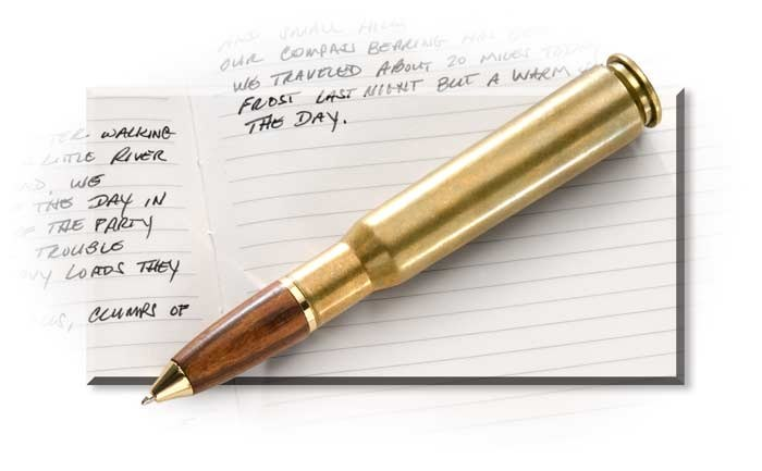 50 Caliber Cartridge Pen Rus S For Men