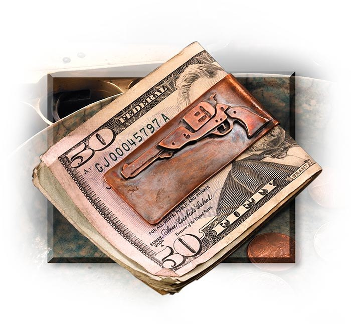 Revolver Money Clip