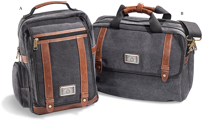 Canvas Sling Messenger Bag