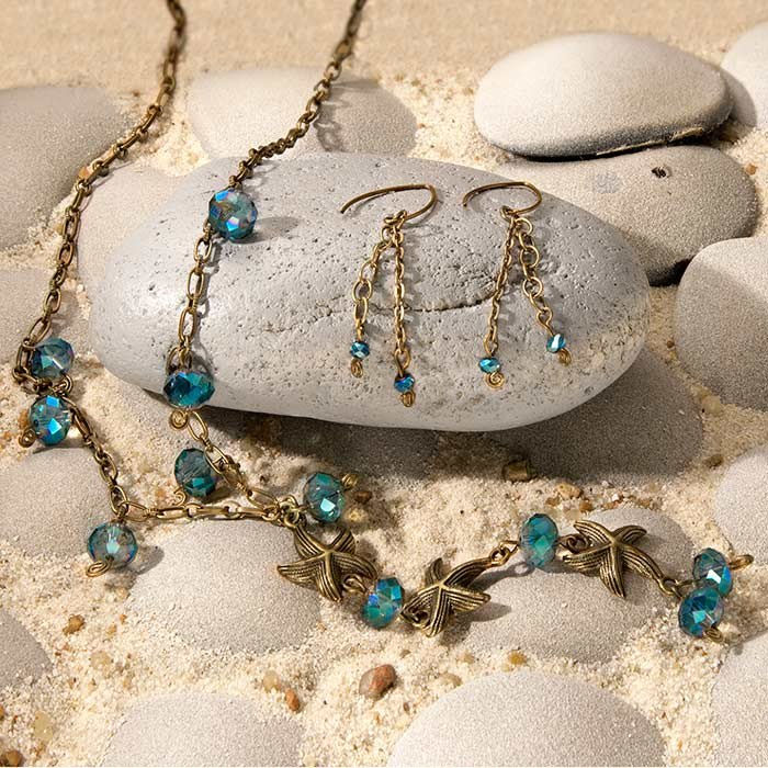 Down by the Seaside Jewelry Set
