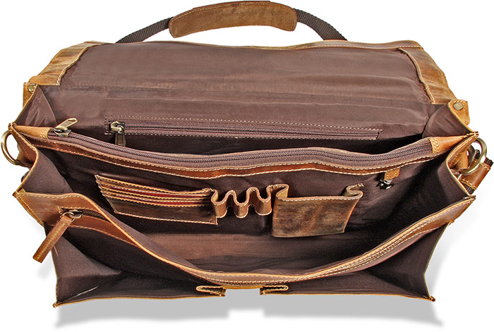 Rugged Water Buffalo Briefcase