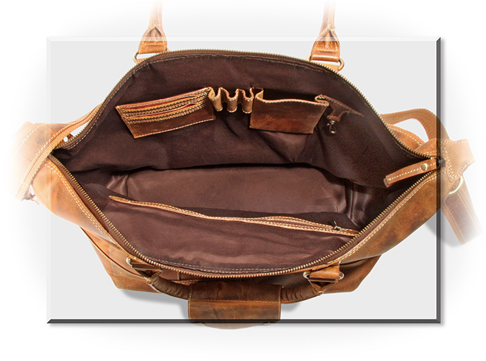 Rugged Water Buffalo Duffel