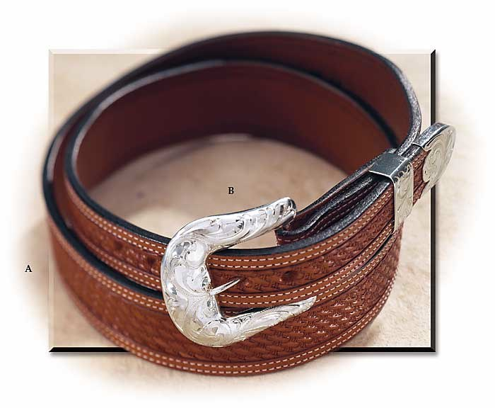 Vogt® Basket Weaved Belt - Size 28 Russett belt only