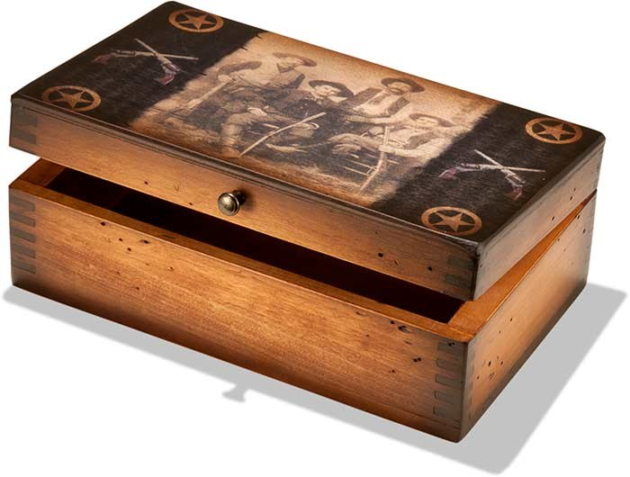 Texas Rangers Memento Box
