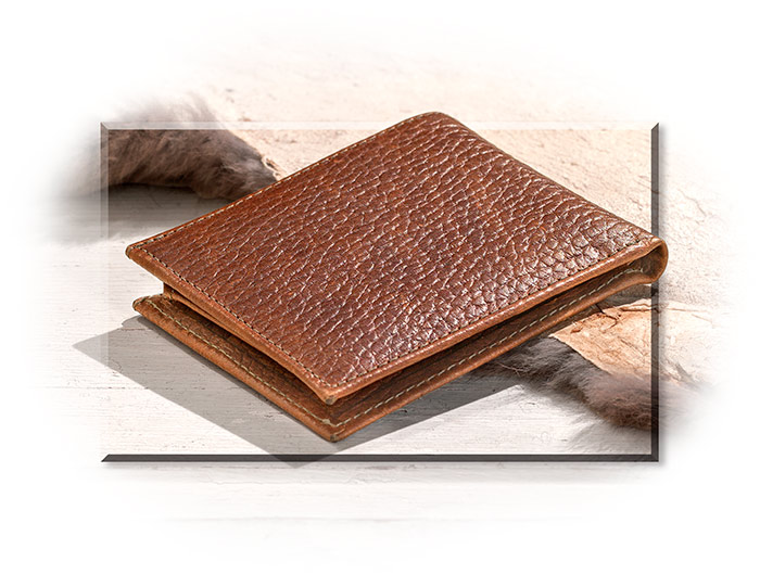 Full Grain Leather Bi-Fold Wallet