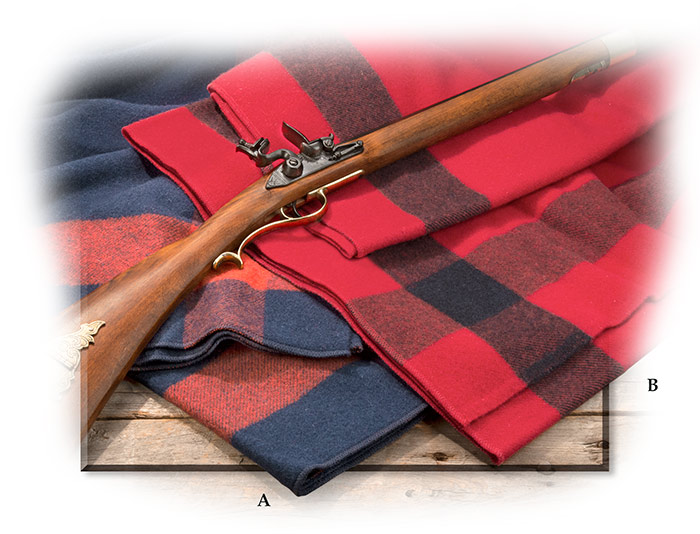 Civil War Cavalry Throw-blue