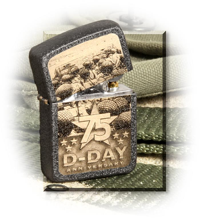 D-Day 75th Anniversary Zippo Lighter
